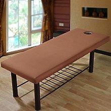 GCDN Sábana de masaje de poliéster, elástica,