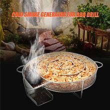 Generador humo frío Ahumador alimentos Acero