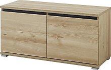 Germania Banco Zapatero, Engineered Wood, Natural,