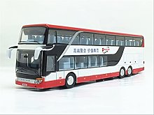 Geyang 1:32 Aleación Pull Back Modelo De Autobús