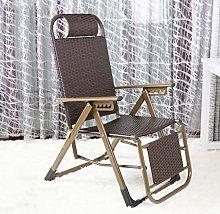 GFF Silla de Mimbre Silla Plegable reclinable