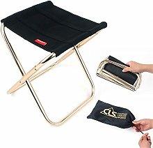GFF Silla Plegable de Metal cómoda Silla Plegable