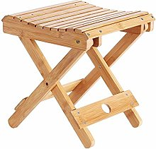 GFF Sillas de bambú para Acampar Plegable,