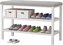 GHCXY Banco de Zapatos Organizador, Estantería de