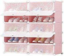GHCXY Racks de Zapatos Organizador, Rack de Polvo
