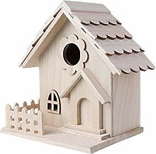 GHKK Casa de pájaro de Madera Creativa Jaula de