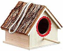 GHKK Casa de pájaros de Madera Casita de pájaros