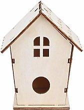 GHKK Nido de pájaros Casa de Nido portátil Caja