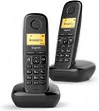 Gigaset A270 Duo Teléfono Dect Negro