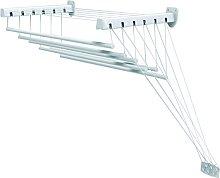Gimi Lift 140 Tendedero de pared y techo de acero,