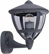 Globo - Aplique exterior ALU linterna antracita