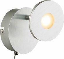 Globo - Foco de pared LED foco de luz ajustable
