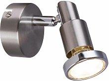 Globo - Foco LED incl.10706 anillo cromado 3