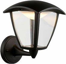 Globo - LED exterior casa lámpara de pared