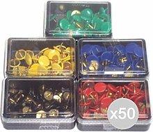 Glooke Selected Juego de 50Agujas diseño de