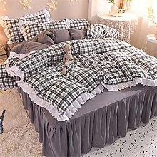 GLUTINOUS Falda de cama pequeña y fresca de