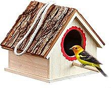GLXYTT Nido para pájaros de jardín Pajarera de