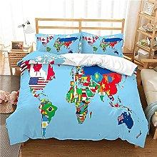 GNNSITT fundas nordicas cama Creativo colorido
