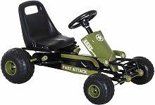 Go Kart Coche de Pedales Karts Deportivo para