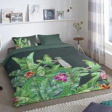 Good Morning Funda de edredón CATO verde 135x200