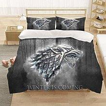 Goplnma - Juego de ropa de cama de la serie lobo