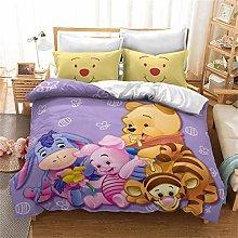 Goplnma - Juego de ropa de cama Disney Winnie The