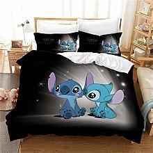 Goplnma -Lilo Stitch Ropa de cama, dibujos