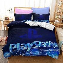 Goplnma PlayStation - Ropa de cama PS4 con funda