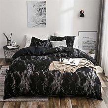 Goplnma - Ropa de cama con diseño de mármol,