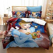 Goplnma - Ropa de cama de princesas Disney ELSA