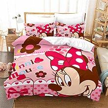 Goplnma - Ropa de cama Disny Mickey Mouse, Minnie