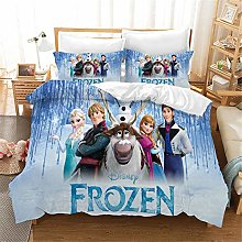 Goplnma - Ropa de cama infantil ELSA Disney