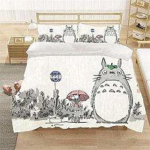 Goplnma Totoro - Juego de cama con impresión