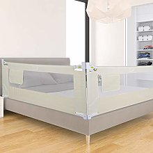 GOTOTOP - Barrera para cama infantil plegable,