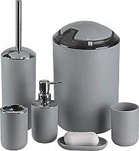GOTOTP Set de Baño de 6 Piezas de Plastico