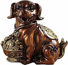 GPWDSN Banco de Dinero para Cachorros, Banco de