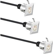 Gracelle foco empotrado LED, 3, angular - Lindby
