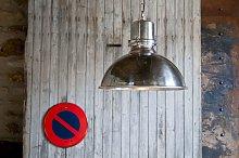 Gran lámpara colgante en plata Lynce
