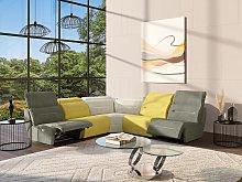 Gran sofá rinconera relax simétrico modular de
