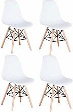 GrandCA Conjunto de 4 sillas, sillas de Comedor