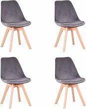 GrandCA HOME Conjunto de 4 sillas, Silla de