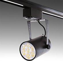Greenice - Foco Carril LED 7W 700Lm 30.000H Ashley