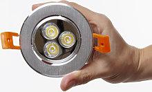 Greenice - Foco Downlight LED Circular 3W 300Lm