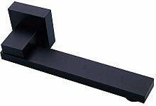 Grifo de agua fría Grifo negro de pared flexible