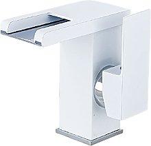 Grifo de baño de la cascada ligera LED, grifo de