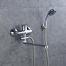 Grifo de baño económico con ducha de mano fría