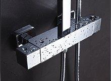 Grifo de ducha termostático Extraplano y cuadrado