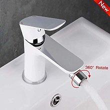 Grifo de lavabo de baño, grifo mezclador de