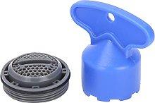 Grifo incorporado Filtro burbujeador Fregadero de