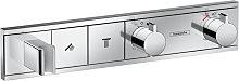 Grifo termostático con soporte cromo RainSelect